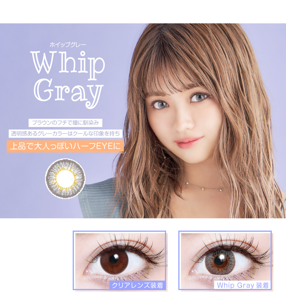 Whip Gray(ホイップグレー)紹介