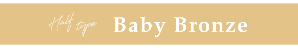TeAmo1DAY Baby Bronze タイトル