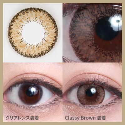 classy brown 着画