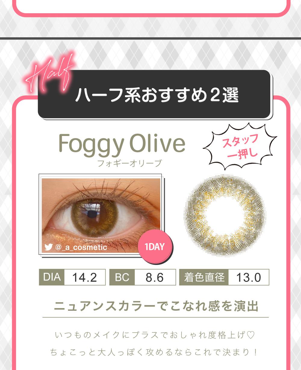 Foggy Olive 紹介